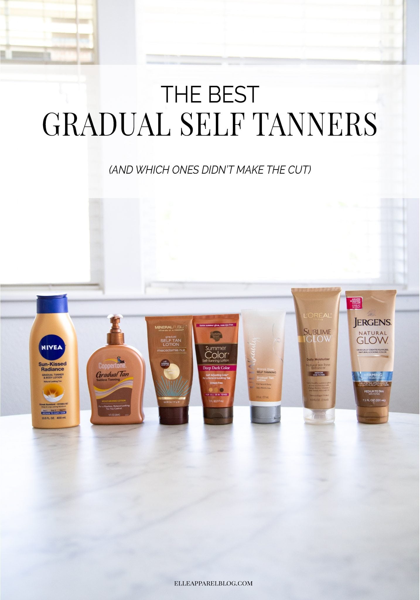 The best gradual self tanners (and the ones to avoid!)