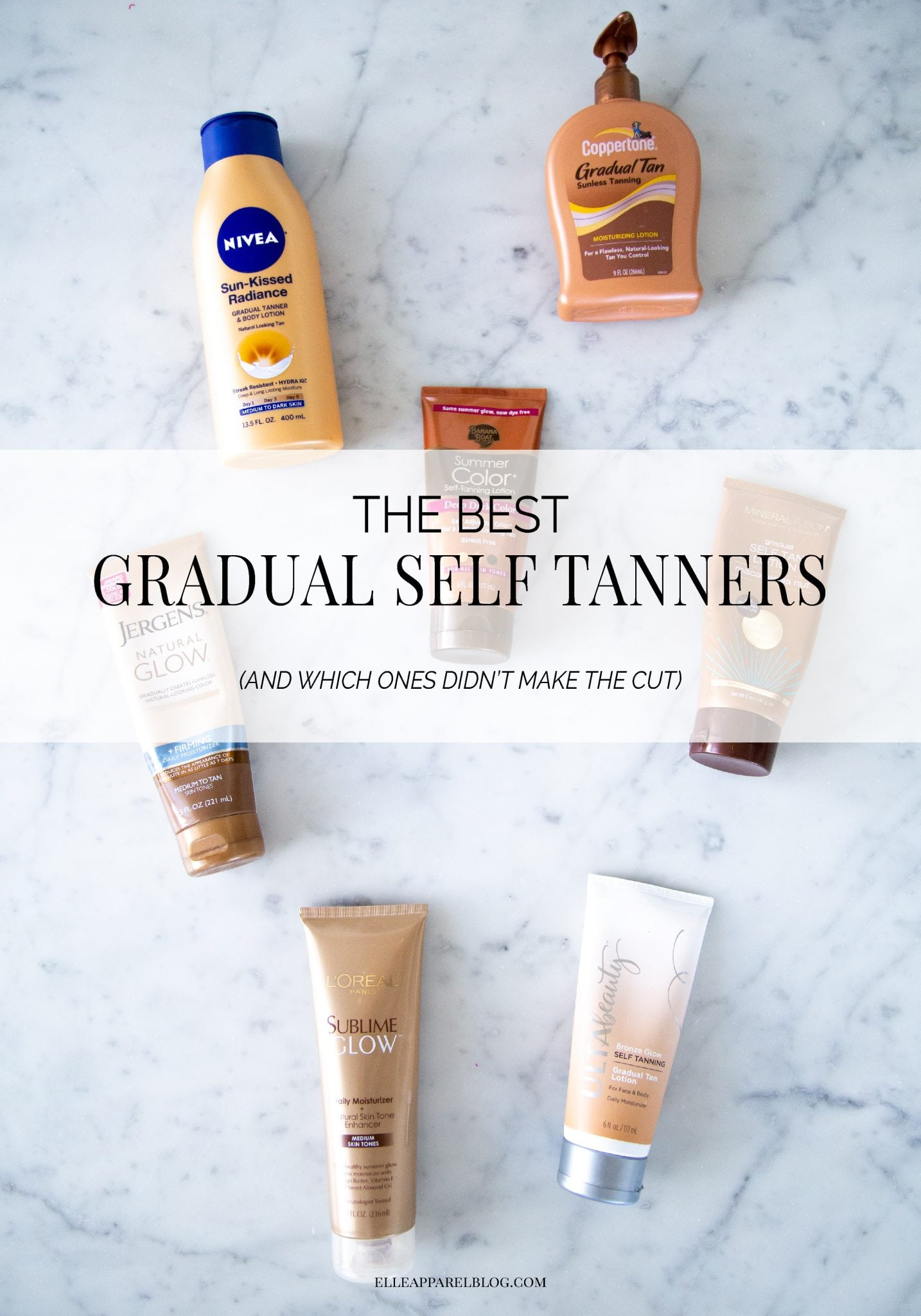 The best gradual self tanners (and the ones to avoid!) | Elle Apparel Blog