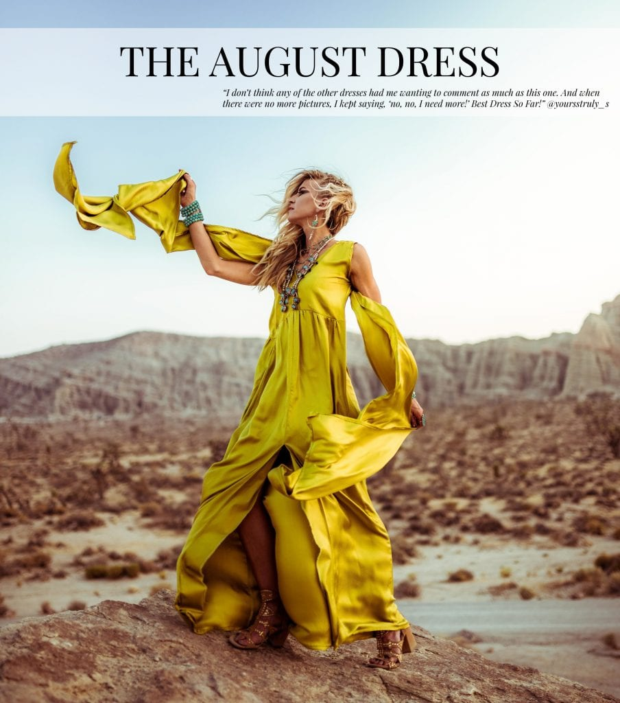 The August Dress from The Monthly Dress Series