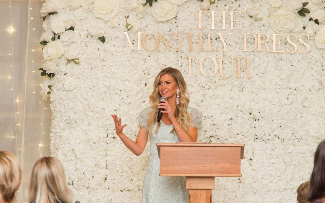 THE MONTHLY DRESS TOUR, DAY 1: THE VENUE, THE SPEECH, AND THE SET UP