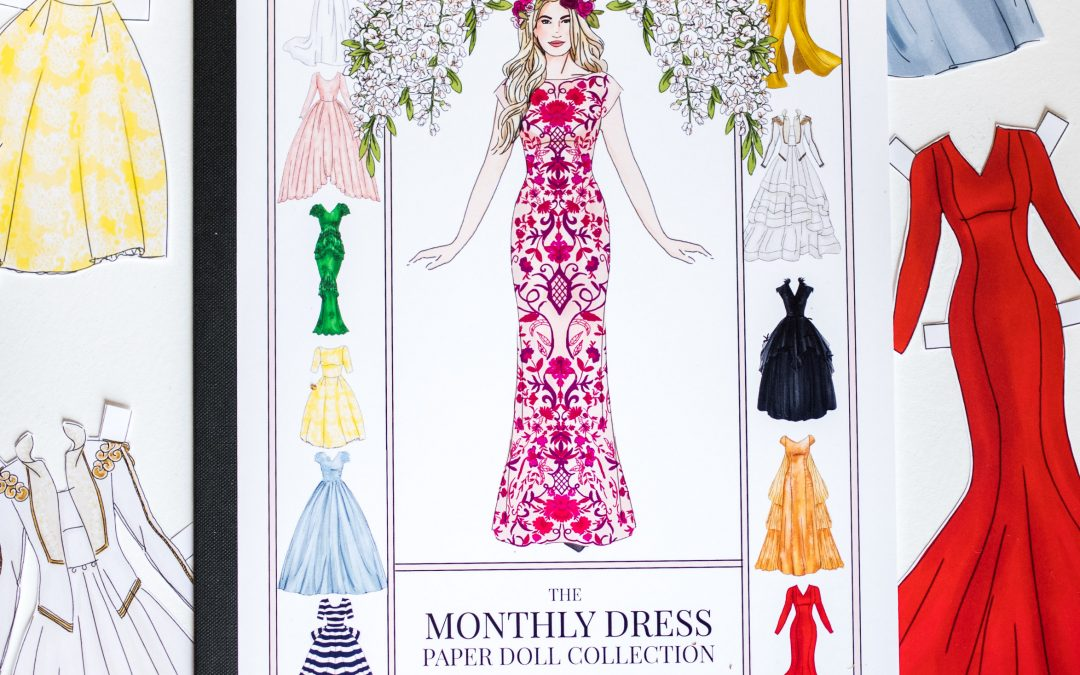 ORDERS FOR THE MONTLY DRESS PAPER DOLL BOOKS ARE LIVE!