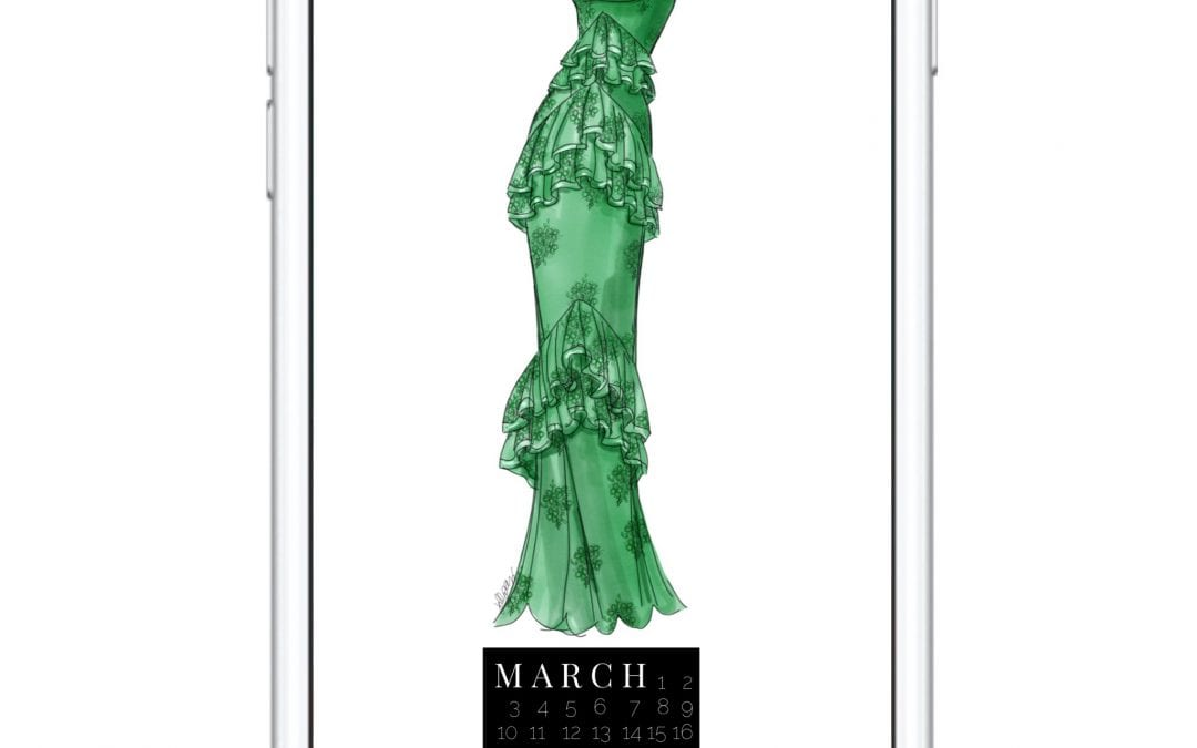 THE MARCH DRESS DIGITAL DOWNLOAD