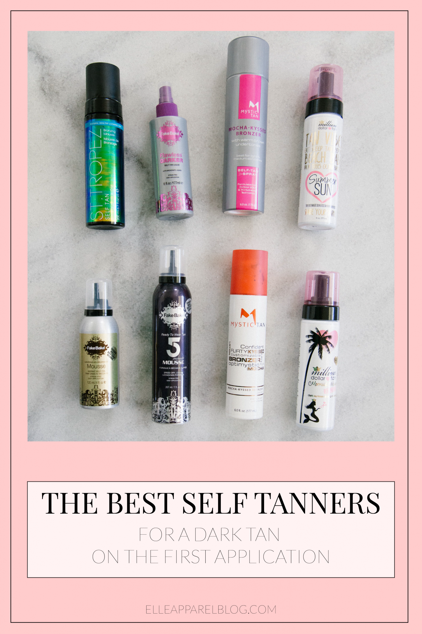 The Best Self Tanners For Summer