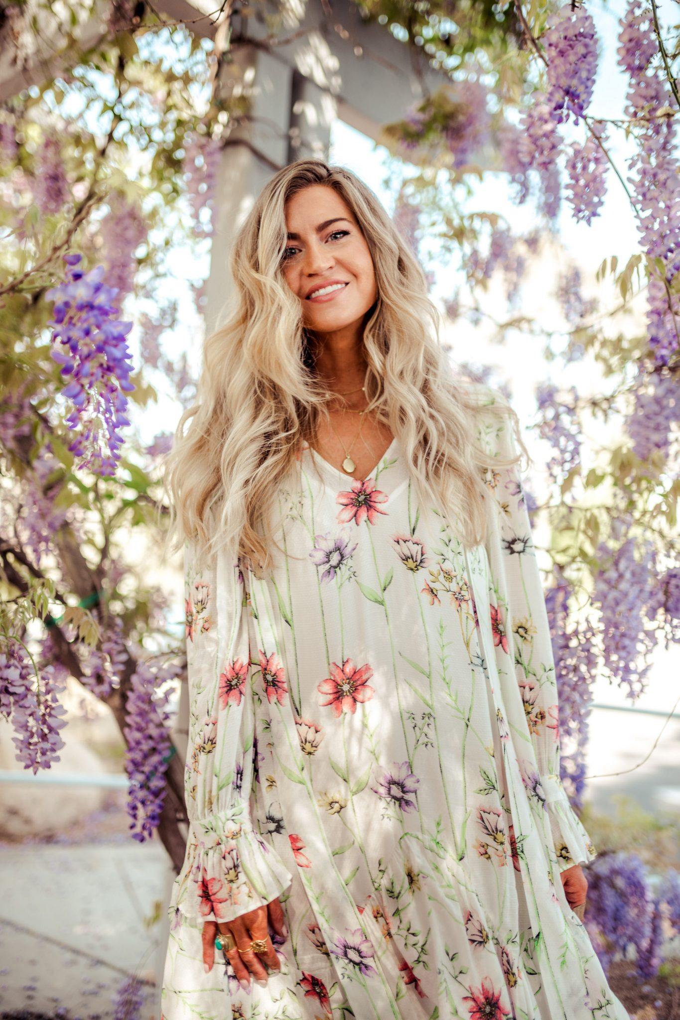 Floral print dresses done right for spring