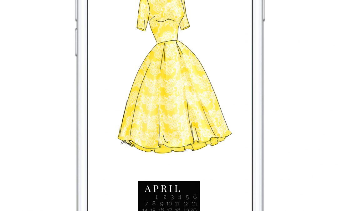 THE APRIL DRESS DIGITAL DOWNLOAD