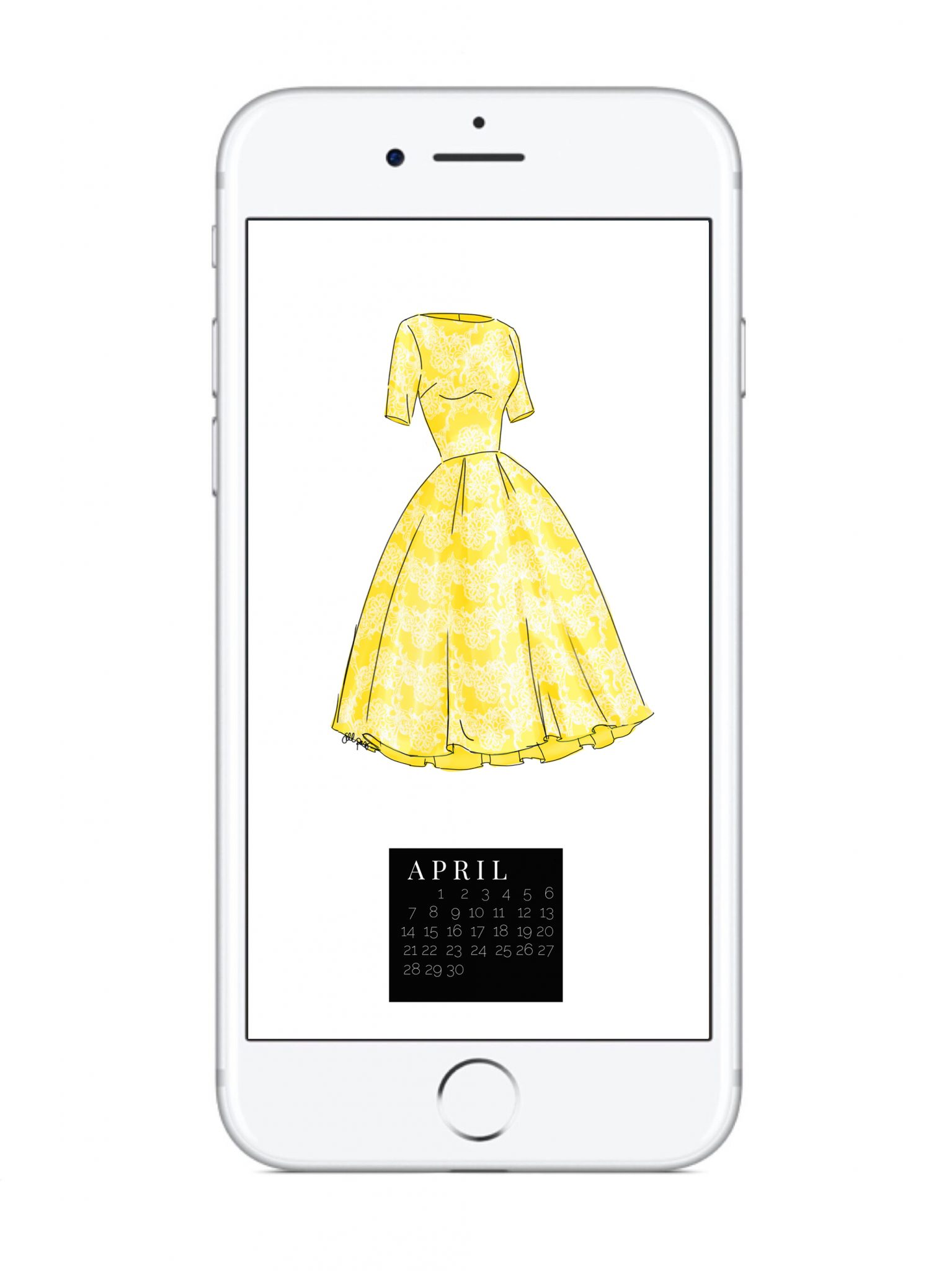 THE APRIL DRESS DIGITAL DOWNLOAD