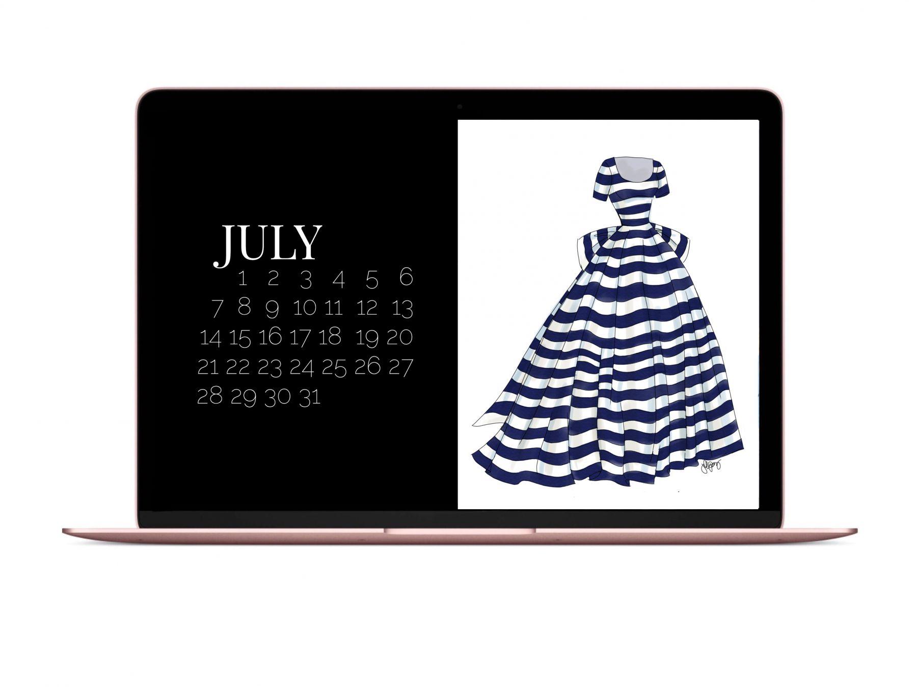 THE JULY DRESS DIGITAL DOWNLOAD
