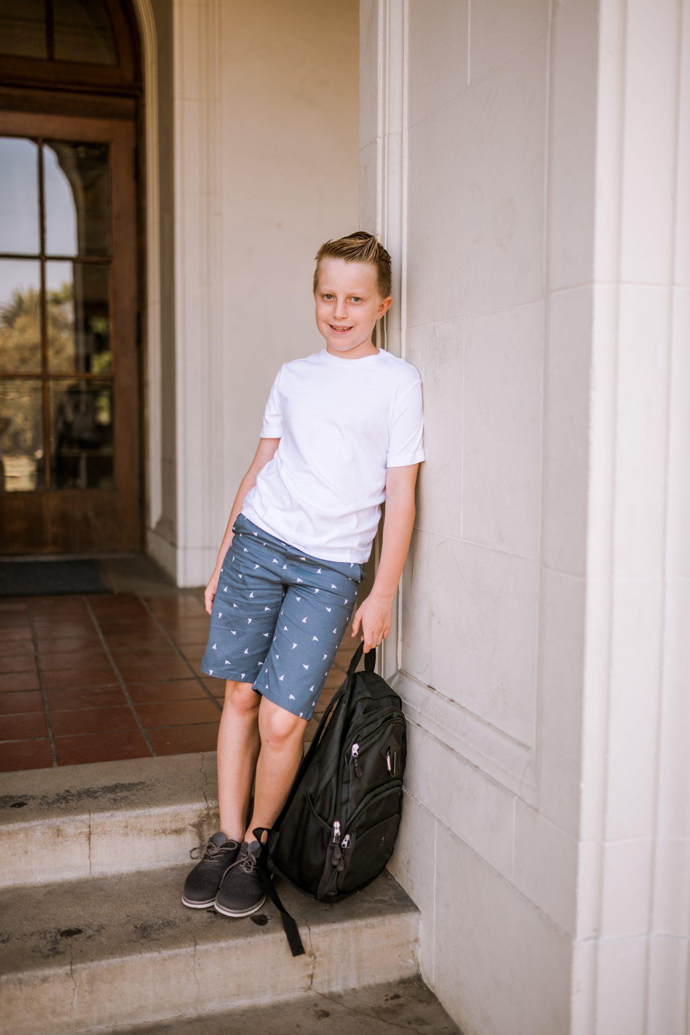 Back to school kids style
