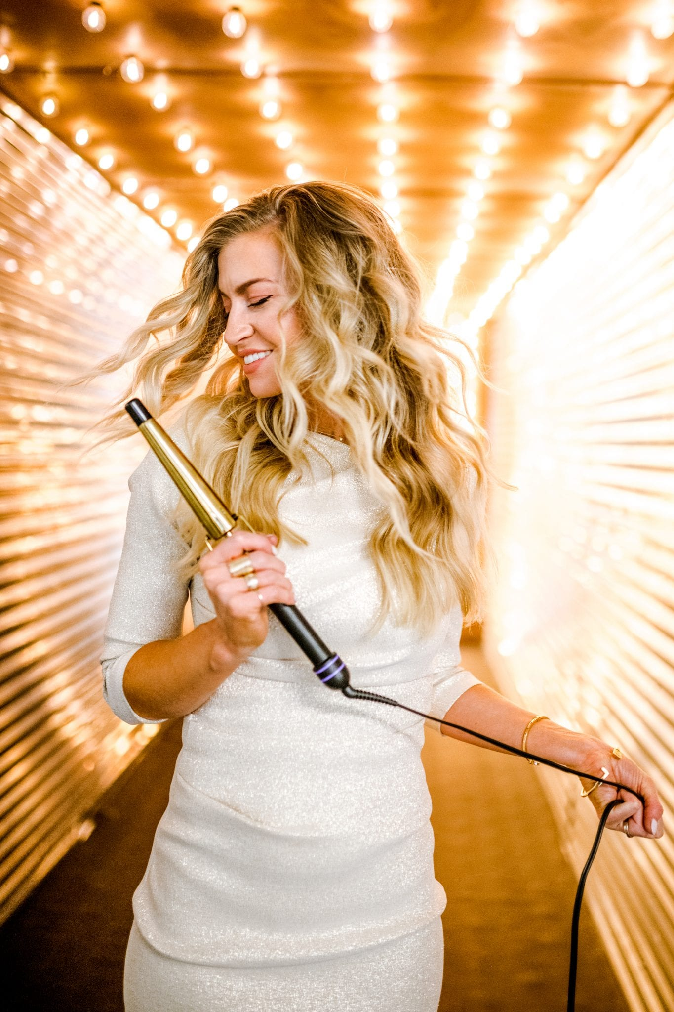 MY HOT TOOLS CURLING WAND + A DISCOUNT CODE