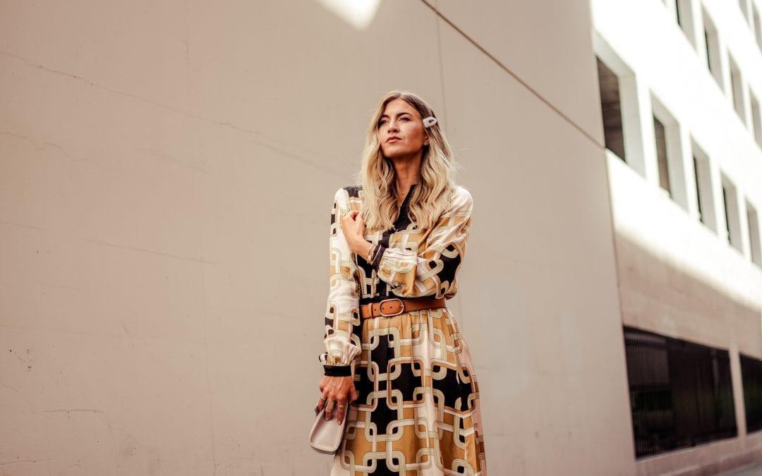A GEOMETRIC DRESS THAT LOOKS DESIGNER + 10 NEW FALL ARRIVALS I'M LOVING