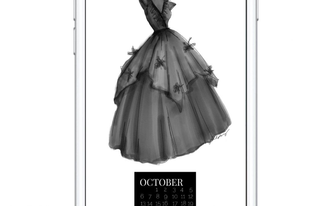 THE OCTOBER DRESS DIGITAL DOWNLOAD
