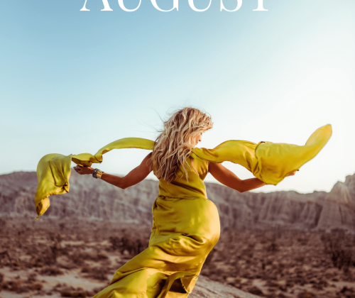 BEHIND THE DRESS: AUGUST